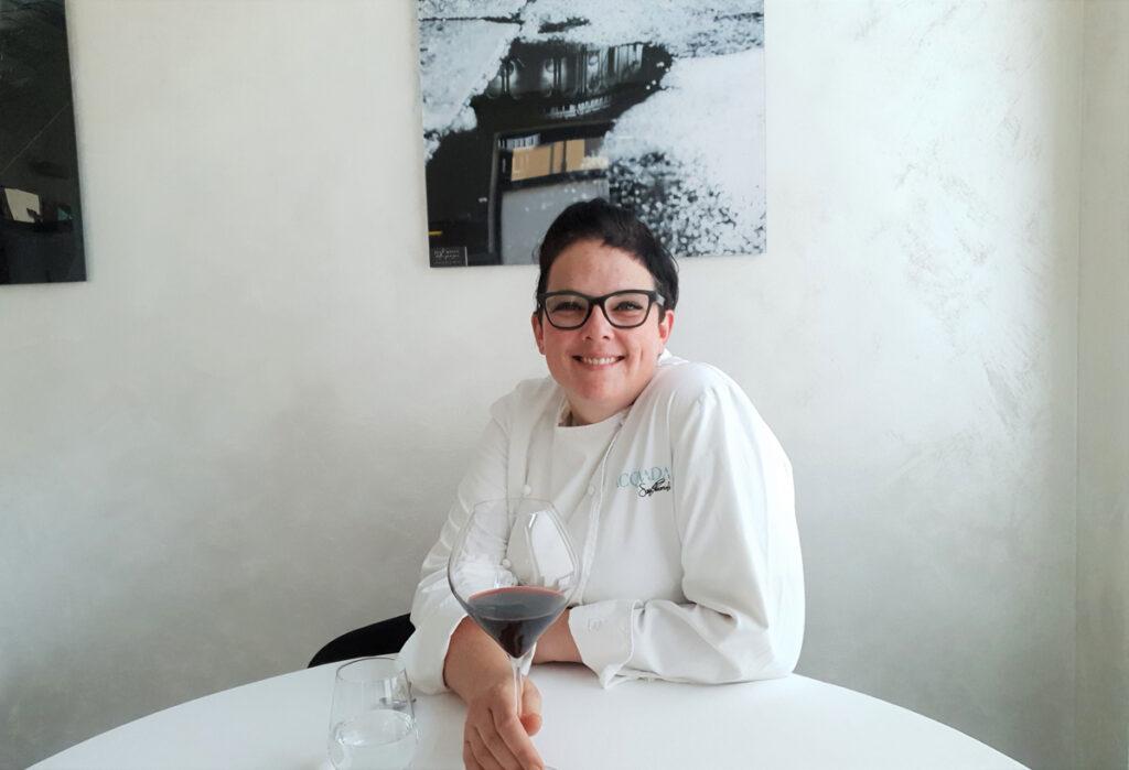 Acquada - chef Sara Preceruti nel suo ristorante