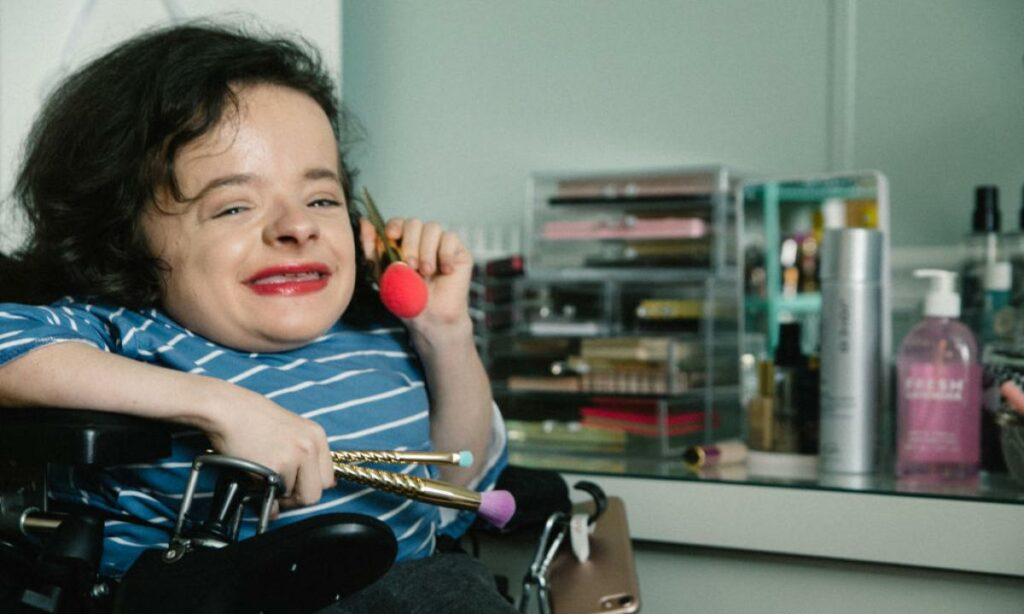 Make-up inclusivo per persone affette da disabilità