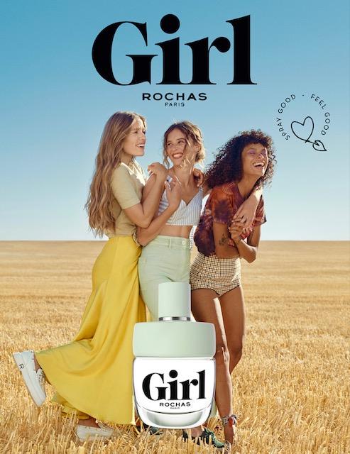 girl de rochas flacone - campagna adv - aprile 2021