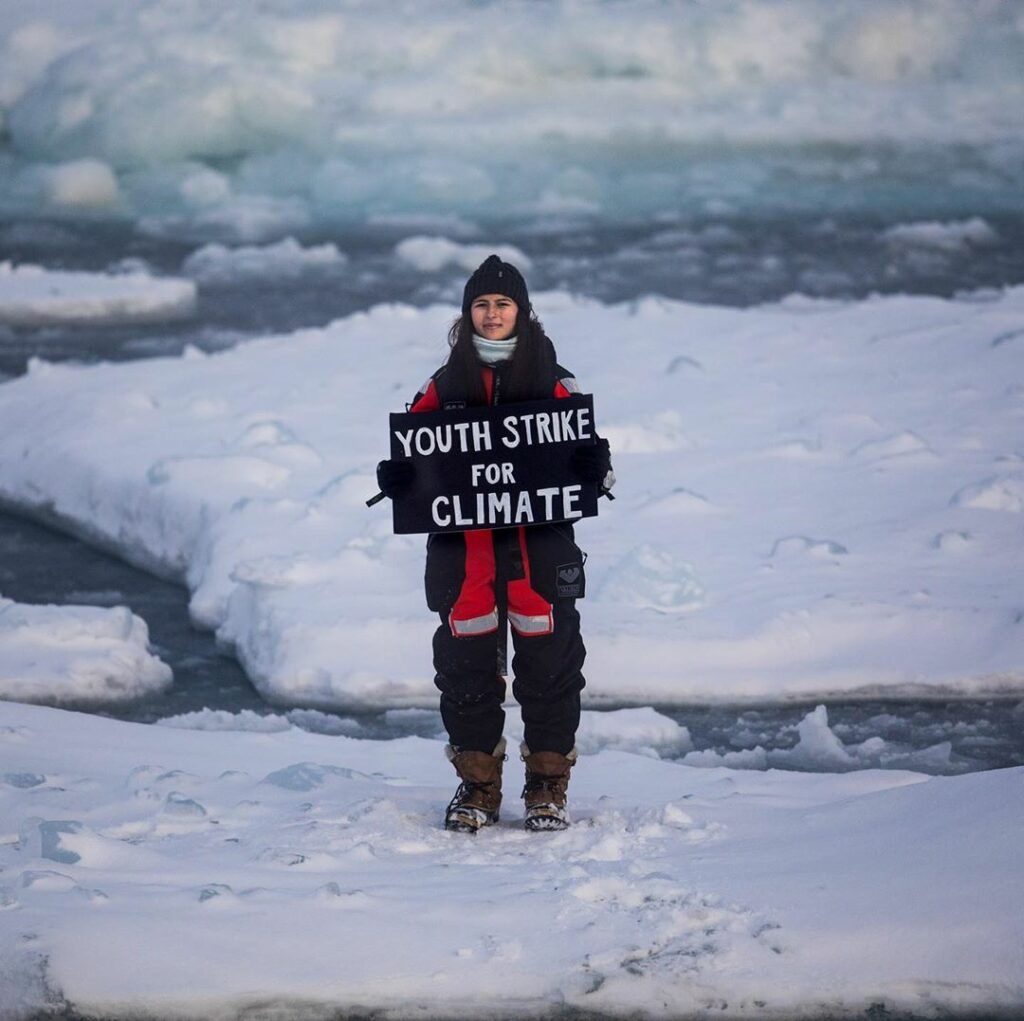 Strike for climate Arctic Angels