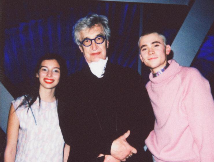 Wim Wenders, Gaia Girace e Felix Sandman X Ferragamo