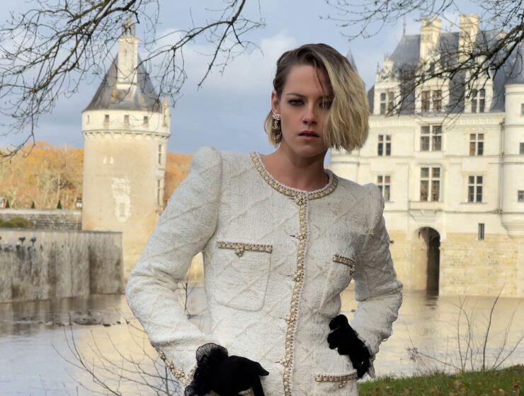CHANEL 'Le Château des Dames' Métiers d'art 2020/21 Collection in Boutique - Kristen Stewart