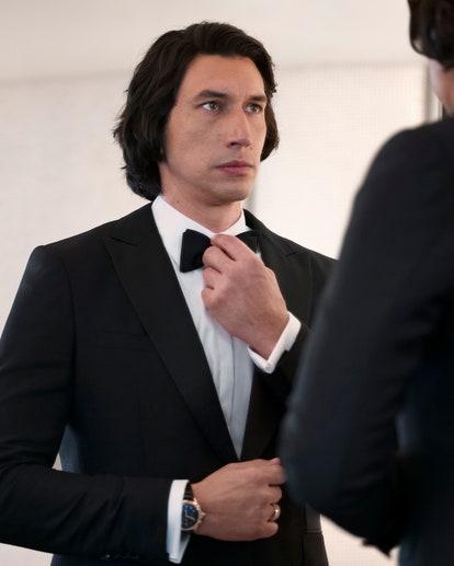 Adam Driver al Festival di Cannes 2021 indossa Burberry