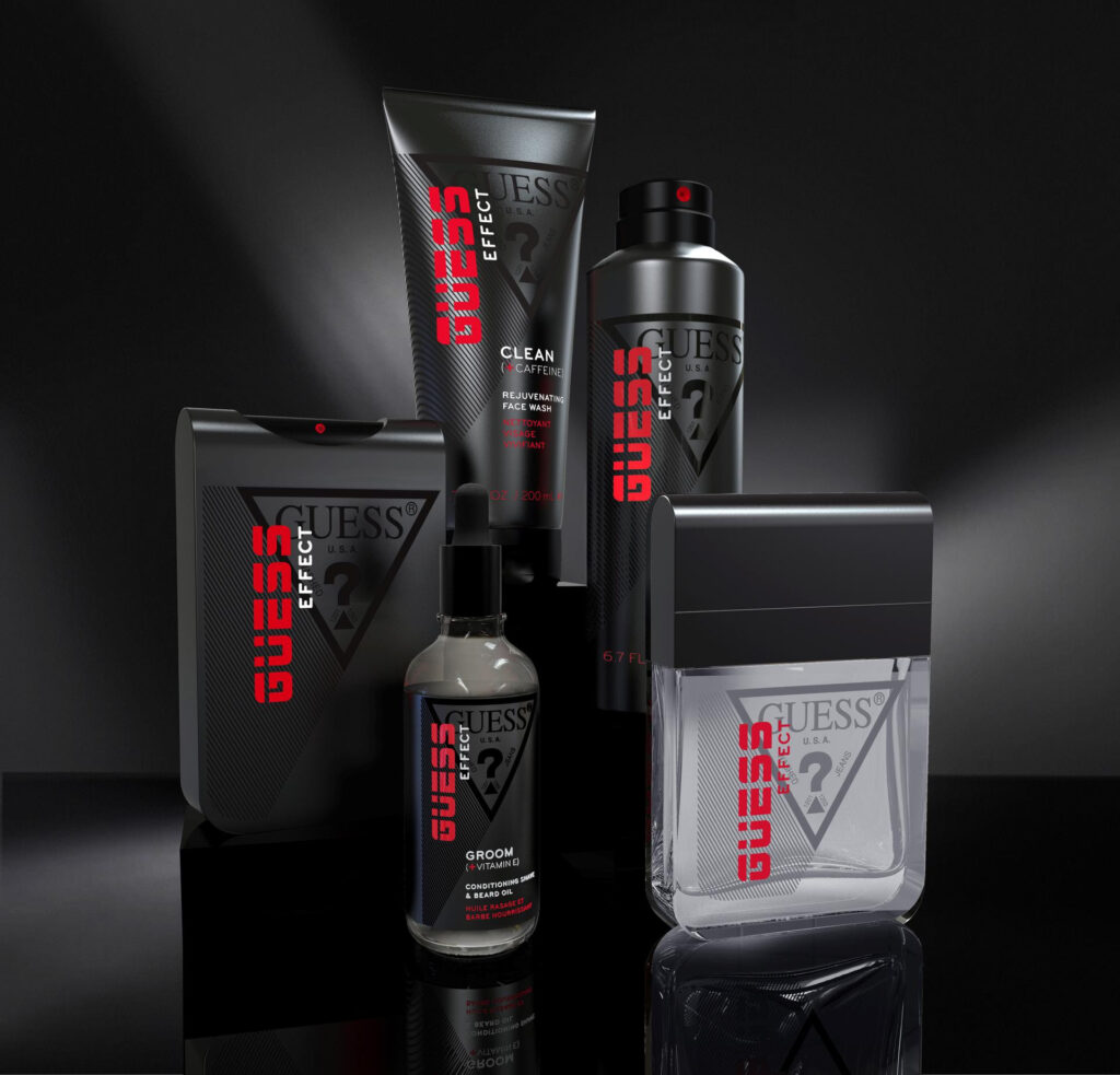Collezione GUESS Effect Grooming Collection
