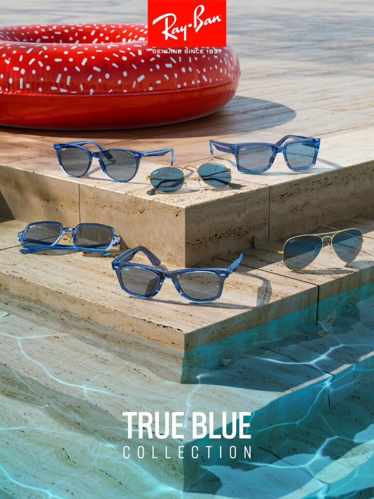 Capsule Collection Ray-Ban True Blue